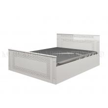 """""""Афина №1"""" кровать 1,4м ПВХ глянец"""