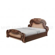 Кровать 1,4м Александрина МДФ краска ПВХ глянец