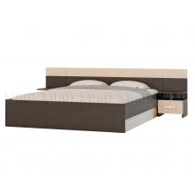 Бася кровать 1,6м  №3 (1635*700(350)*2037)