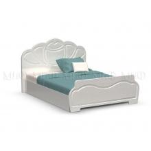 Кровать 1.4м Гармония МДФ краска ПВХ глянец