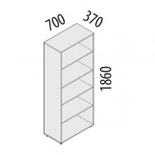 Шкаф офисный 5 секций Рубин 41.31