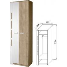 Шкаф для платья Белла-4(602*2004*468)