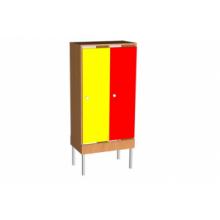 Шкаф для одежды на мет. опорах (мет.сетка под обувь)  2 м