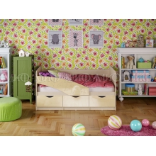 Кровать Бабочки мет. (1636*850*800)МГ МИФ