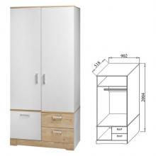 Шкаф для платья Бэлла-6(902*518*2004)