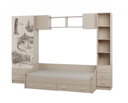 Детская Вега 1 (3135*2220*380) Шкаф с фото