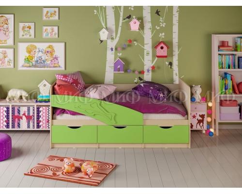 Кровать Дельфин мет. (1836*800*850)МГ МФ